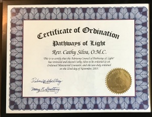 POL ORdination Certificate
